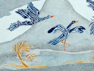 Fantasy Birds - Flight Over the Serengeti