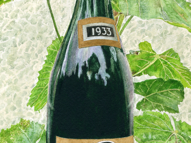 Wine from Palestine (Carmel Oriental 1933)