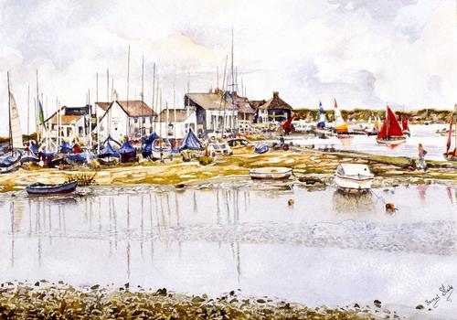 Mudeford Quay Boat Park
