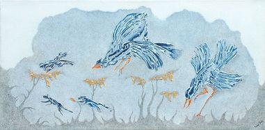 Fantasy Birds - Flight from Above