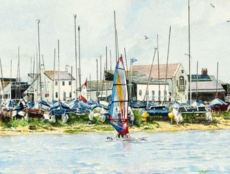Mudeford Quay and Dinghy Park